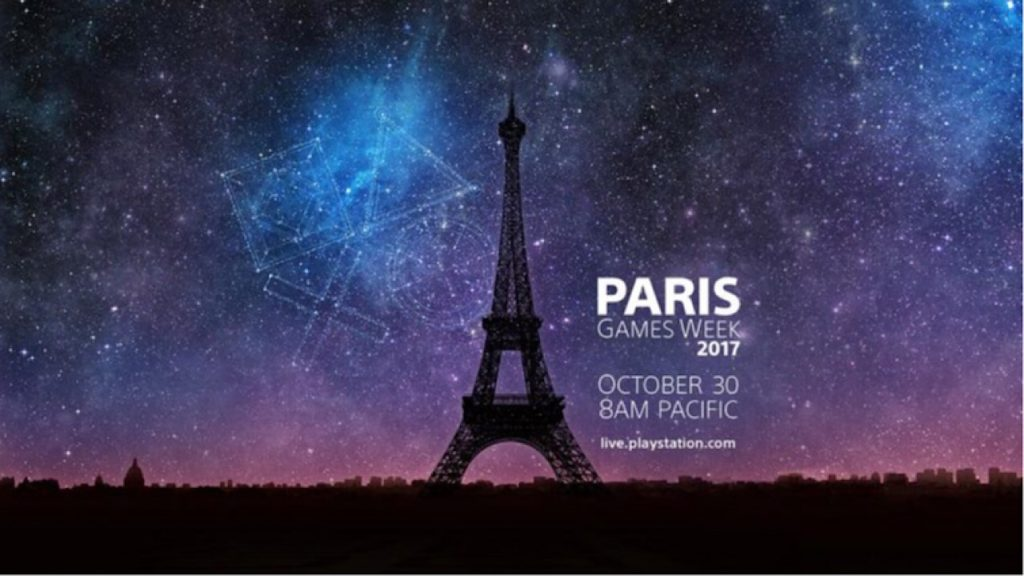PlayStation's Paris Games Week show Releases New Games